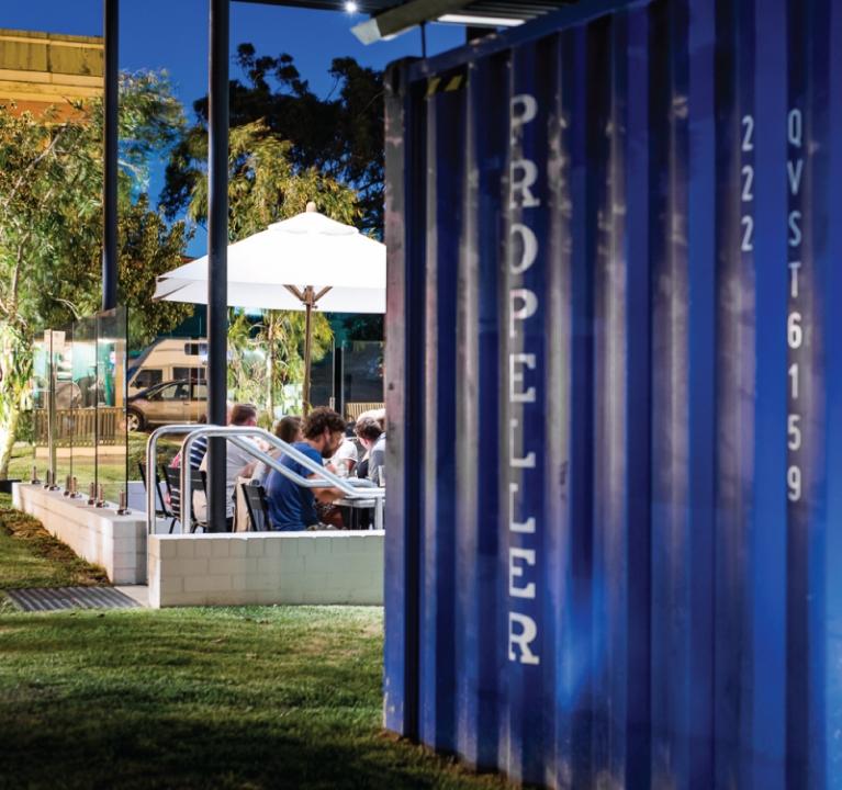 Propeller North Fremantle, Restaurant, Bar, Coffee
